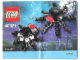 Instruction No: 40021  Name: Spiders Set polybag