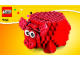 Instruction No: 40155  Name: Coin Bank, Red Piggy Bank