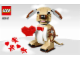 Instruction No: 40201  Name: Valentine's Cupid Dog