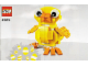 Instruction No: 40202  Name: Easter Chick