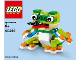Instruction No: 40214  Name: Monthly Mini Model Build Set - 2016 07 July, Frog polybag