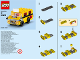 Instruction No: 40216  Name: Monthly Mini Model Build Set - 2016 09 September, School Bus polybag