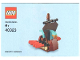 Instruction No: 40323  Name: Monthly Mini Model Build Set - 2019 03 March, Viking Ship polybag