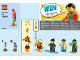 Instruction No: 40344  Name: Summer Celebration Minifigure Set blister pack