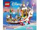 Instruction No: 41153  Name: Ariel's Royal Celebration Boat