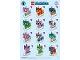 Instruction No: 41775  Name: Minifigure, Unikitty!, Series 1 (1 Random Complete Minifigure Set)