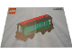 Instruction No: 4186872  Name: Passenger Wagon Green (White Box)