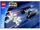 Instruction No: 4484  Name: X-wing Fighter & TIE Advanced - Mini