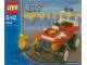 Instruction No: 4914  Name: Fire Chief's Car polybag
