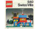 Instruction No: 540  Name: Swiss Villa