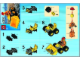 Instruction No: 5627  Name: Mini Bulldozer polybag