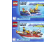 Instruction No: 60005  Name: Fire Boat