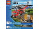Instruction No: 60010  Name: Fire Helicopter (Studs on Side Version)