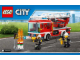Instruction No: 60107  Name: Fire Ladder Truck
