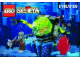 Instruction No: 6109  Name: Sea Creeper (with Stingray Baseplate, Raised)