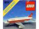 Instruction No: 611  Name: Air Canada Jet Plane