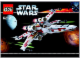Instruction No: 6212  Name: X-wing Fighter