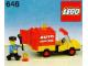 Instruction No: 646  Name: Auto Service Truck