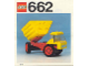 Instruction No: 662  Name: Dumper Lorry