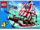 Instruction No: 7075  Name: Captain Redbeard's Pirate Ship