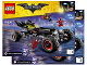 Instruction No: 70905  Name: The Batmobile