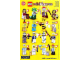 Instruction No: 71001  Name: Minifigure, Series 10 (Complete Random Set of 1 Minifigure)