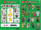 Instruction No: 71002  Name: Minifigure, Series 11 (Complete Random Set of 1 Minifigure)