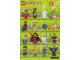 Instruction No: 71008  Name: Minifigure, Series 13 (Complete Random Set of 1 Minifigure)