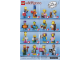 Instruction No: 71009  Name: Minifigure, The Simpsons, Series 2 (Complete Random Set of 1 Minifigure)