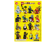Instruction No: 71013  Name: Minifigure, Series 16 (Complete Random Set of 1 Minifigure)