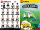 Instruction No: 71014  Name: Minifigure, Deutscher Fussball-Bund / DFB (Complete Random Set of 1 Minifigure)