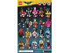 Instruction No: 71017  Name: Minifigure, The LEGO Batman Movie, Series 1 (Complete Random Set of 1 Minifigure)