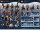 Instruction No: 71022  Name: Minifigure, Harry Potter & Fantastic Beasts (Complete Series of 22 Complete Minifigure Sets)