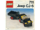 Instruction No: 711  Name: Jeep CJ-5