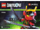 Instruction No: 71216  Name: Fun Pack - Ninjago (Nya and Samurai Mech)
