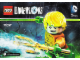 Instruction No: 71237  Name: Fun Pack - DC Comics (Aquaman and Aqua Watercraft)