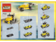 Instruction No: 7223  Name: Yellow Truck (Box version) - ANA Promotion