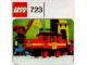 Instruction No: 723  Name: Diesel Locomotive with DB Sticker