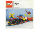 Instruction No: 725  Name: 12V Freight Train and Track