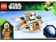 Instruction No: 75009  Name: Snowspeeder & Planet Hoth