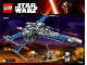 Instruction No: 75149  Name: Resistance X-Wing Fighter