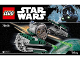 Instruction No: 75168  Name: Yoda's Jedi Starfighter