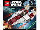 Instruction No: 75175  Name: A-Wing Starfighter