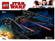 Instruction No: 75179  Name: Kylo Ren's TIE Fighter