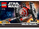 Instruction No: 75194  Name: First Order TIE Fighter Microfighter