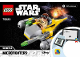 Instruction No: 75223  Name: Naboo Starfighter Microfighter