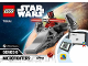 Instruction No: 75224  Name: Sith Infiltrator Microfighter