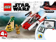 Instruction No: 75247  Name: Rebel A-Wing Starfighter