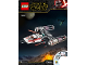 Instruction No: 75249  Name: Resistance Y-Wing Starfighter