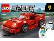 Instruction No: 75890  Name: Ferrari F40 Competizione